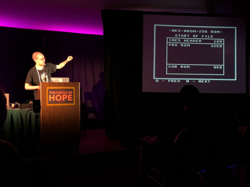 Presenting from an NES at the HOPE Conference