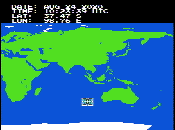 International Space Station Tracker for NES